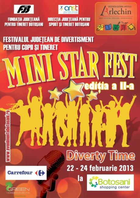 Mini Star Fest - Asociatia Culturala ARLECHIN Botosani