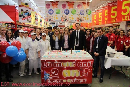 Carrefour Botosani - aniversare 2 ani! -