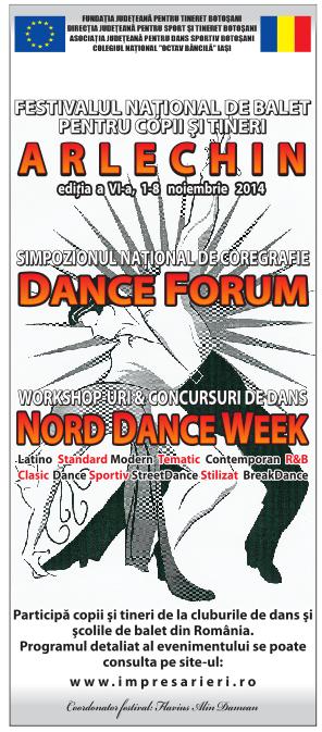 Festivalul National de Balet ARLECHIN 2014