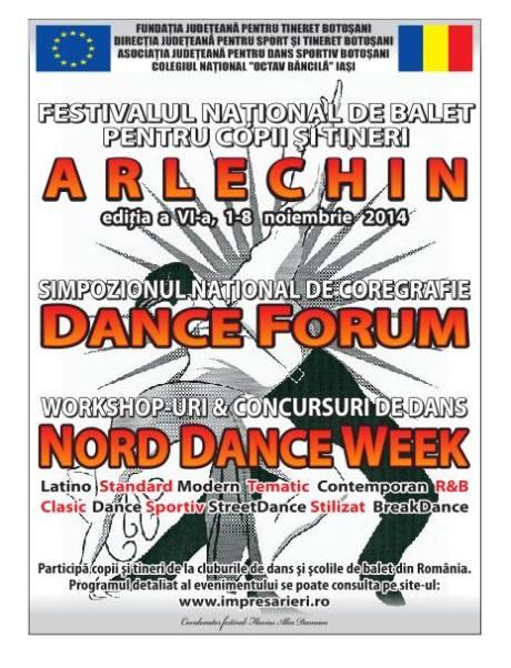 FESTIVALUL NATIONAL DE BALET PENTRU COPII SI TINERET ARLECHIN