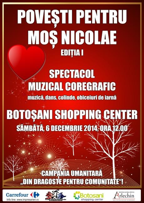 Povesti - MOS NICOLAE - Botosani Shopping Center
