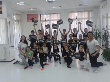 Alice Lazar Constantina si Stefan Raducu - Concursul national de Dans TINERE SPERANTE Botosani - Romania