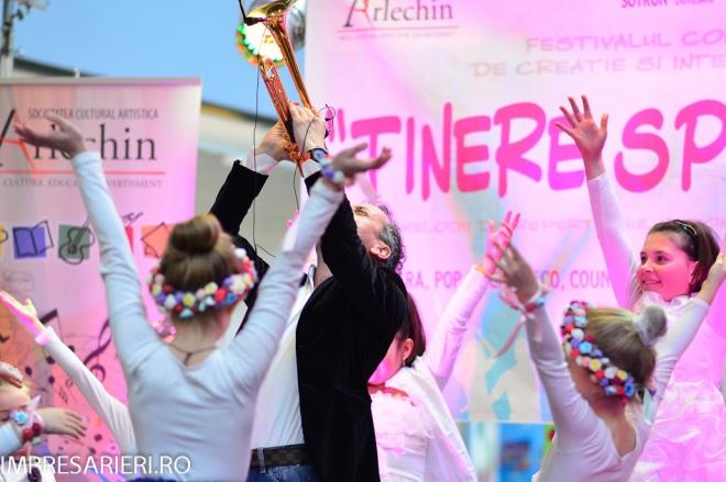 Concursul Naţional TINERE SPERANTE - Clubul ARLECHIN Botosani 2015