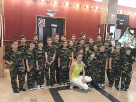 Luiza Apetrei - Concursul national de dans TINERE SPERANTE Botosani - Romania