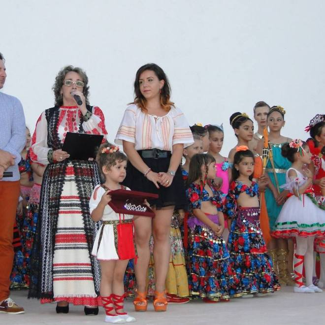 Mihaela Balaceanu - Concursul National de dans TINERE SPERANTE Botosani - Romania