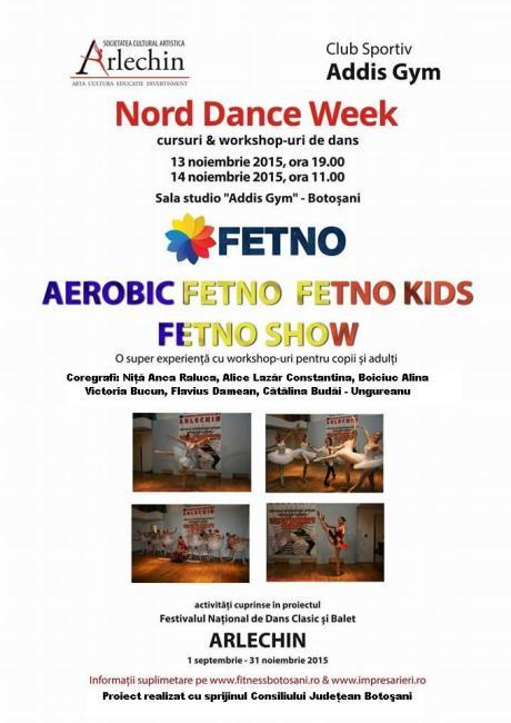 Nord Dance Week - Botosani - 13 - 14 noiembrie 2015