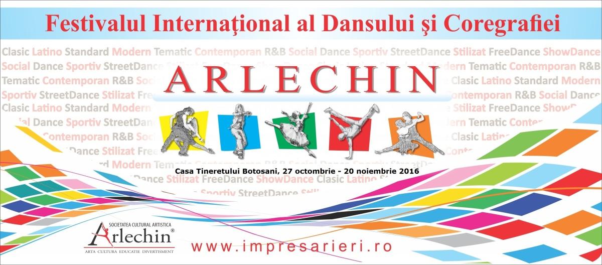 """Comisia de jurizare a competiției internaționale a dansului și coregrafiei """"Arlechin Dance Festival"""" 2016"""