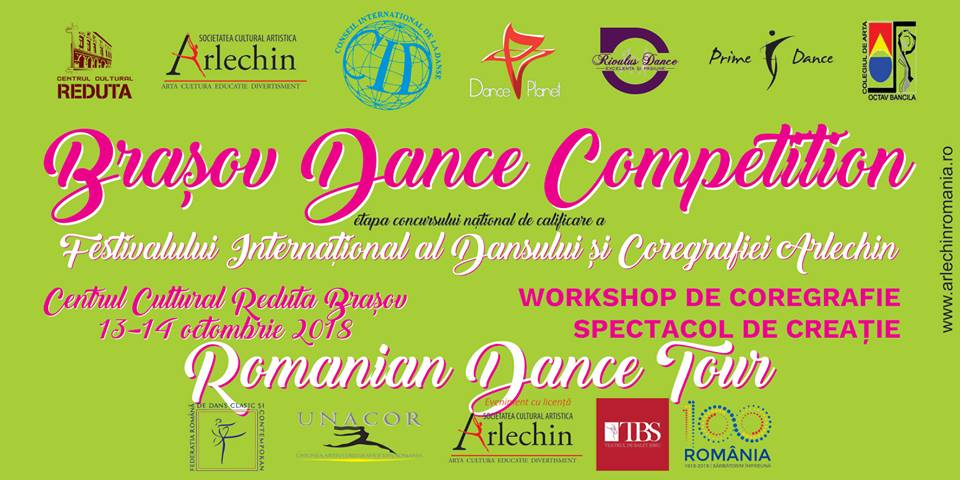 Brasov Dance Competition - Festivalul de Dans si Coregrafie ARLECHIN 2018