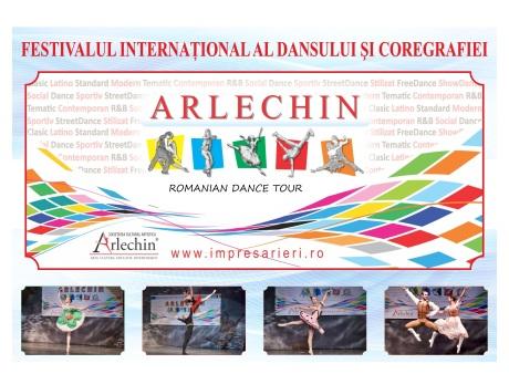 Festivalul Internațional al dansului și coregrafiei ARLECHIN 2018 -