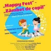 """Happy Fest - Zambet de copii"", 2019. Vezi unde si cand are loc festivalul de muzica si dans!"