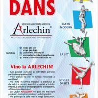 "Scoala de dans ""Arlechin"" Botosani organizeaza inscrieri noi la cursurile de dans modern, balet, dans latino, dans popular, dans sportiv!"
